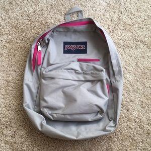 Jansport Digibreak Backpack - Grey Rabbit